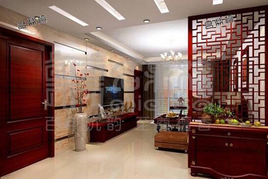中式屏风的隔断设计之美-名鼎檀