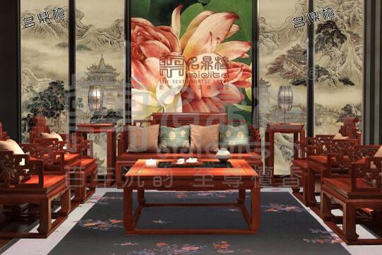 中式古典红木家具,唤起中式家具生活体验