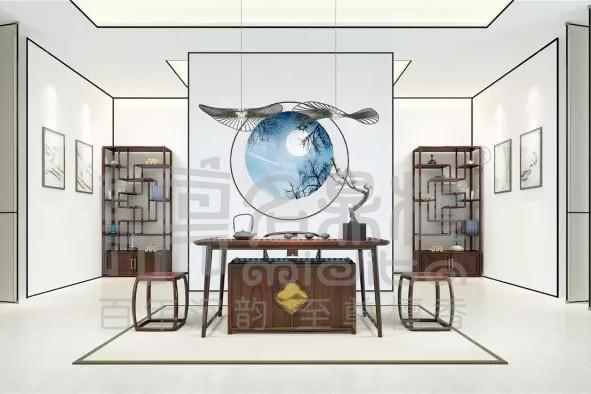中式茶厅:将茶道艺术融入到生活中