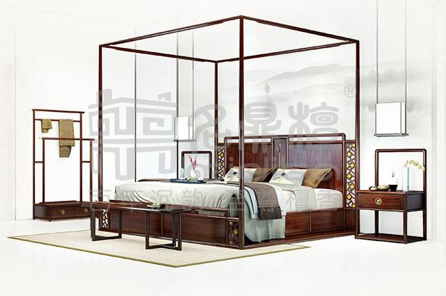 中式生活:高闲·架子床,凝聚设计与品质的力量
