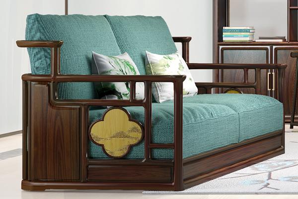 中式客厅: 用当代艺术设计打造现代文人空间【名鼎檀逸芳】