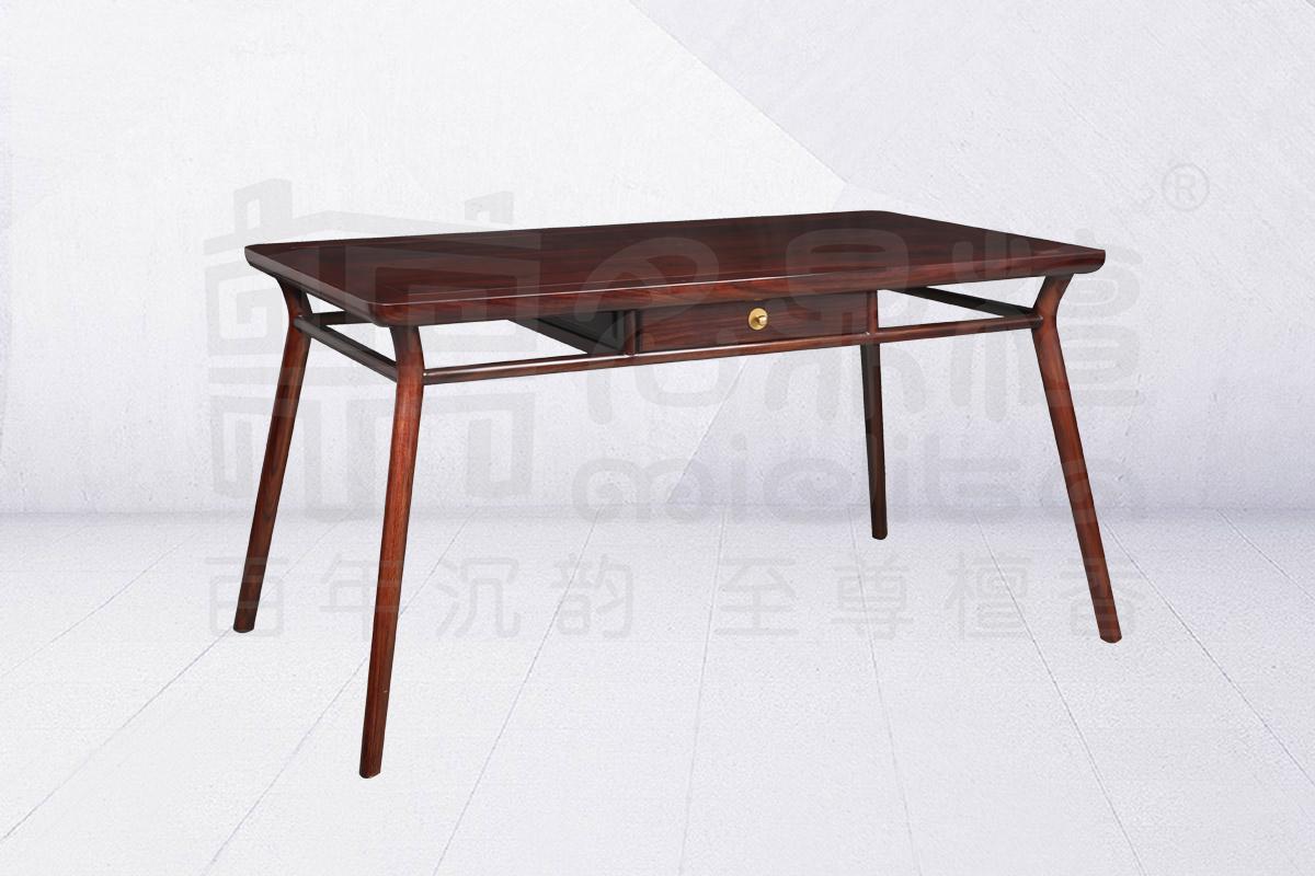 名鼎檀·逸芳系列188B现代中式长餐桌