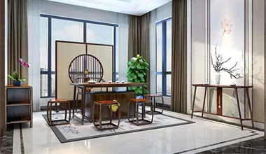 新中式茶厅:闲时品茶,静享流年
