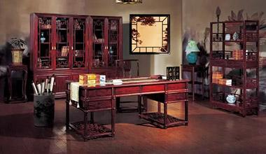 中式书房, 一处清雅的生命禅房