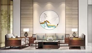 现代中式客厅:一种东方式的闲雅生活