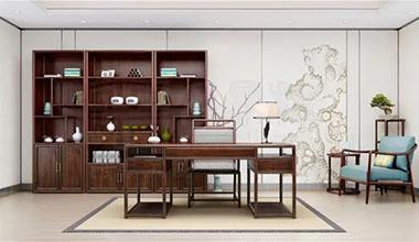 新中式书房,神闲气定 浸润书香