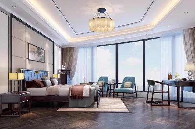 现代中式卧房,闲可修身,静可观己