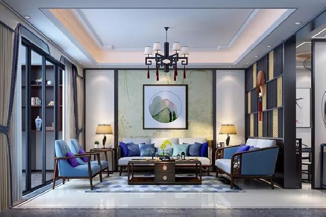 中式客厅:静闲之所 悠然自得