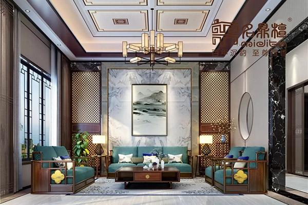 新中式红木家具,中式家居案例 || 避开浊世,作个闲人