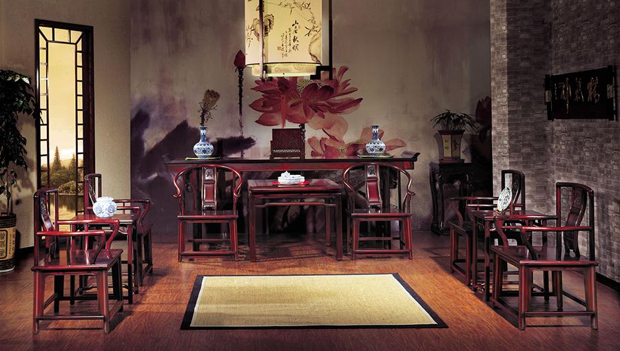 """红木    品味明式家具""""四美"""""""