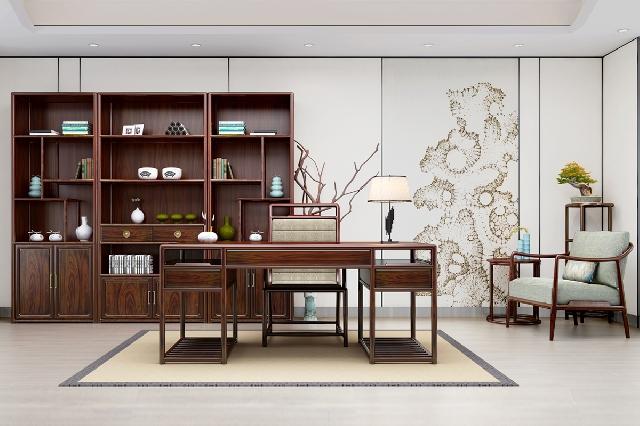 中式书房|静悟生慧