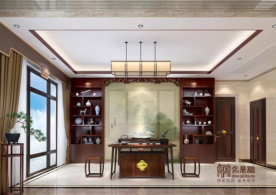 新中式家居   闲中拾趣