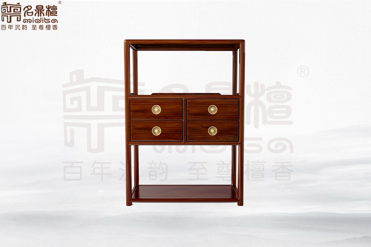 名鼎檀·逸芳系列188现代中式客厅柜(左)