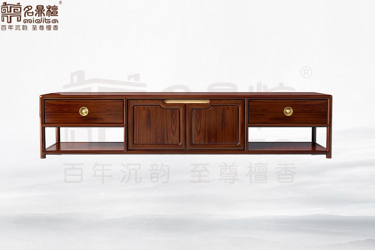 名鼎檀·逸芳系列188现代中式客厅柜(中)