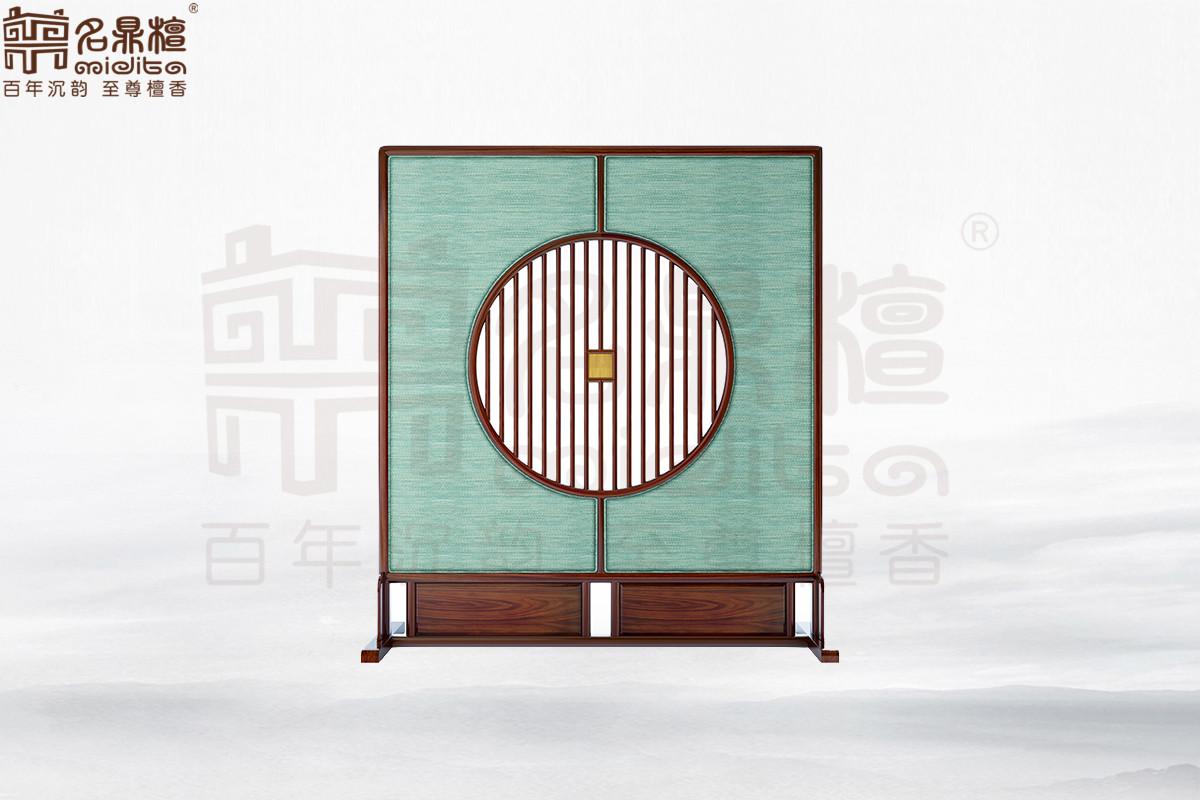 名鼎檀·逸芳系列188现代中式插屏