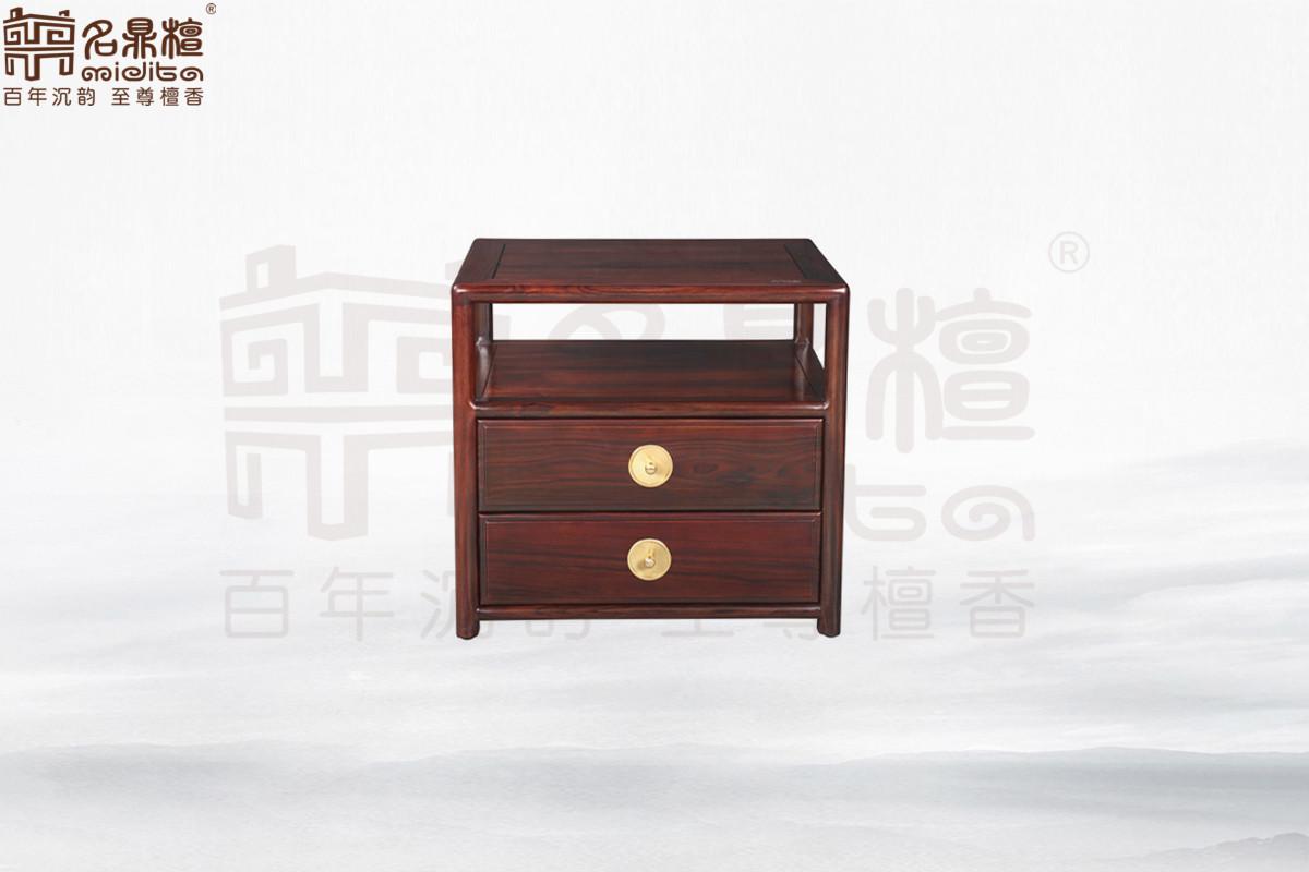 名鼎檀·逸芳系列188A现代中式床头柜