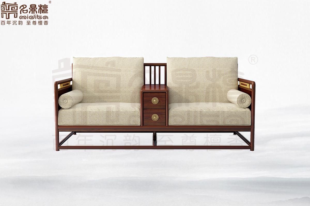 名鼎檀·逸芳系列188现代中式双人位沙发