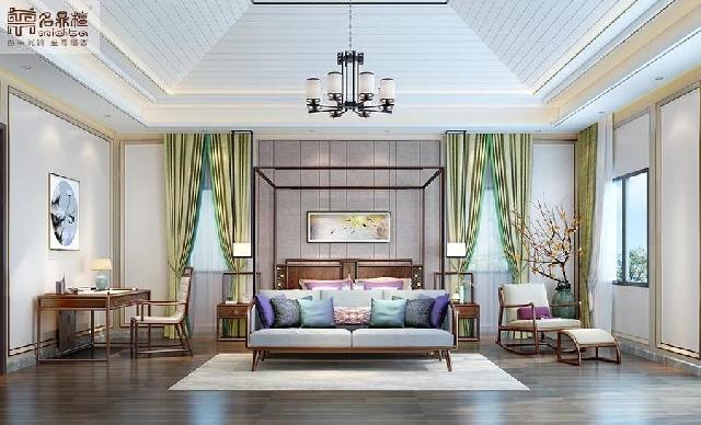 新中式卧室 | 闲待清梦