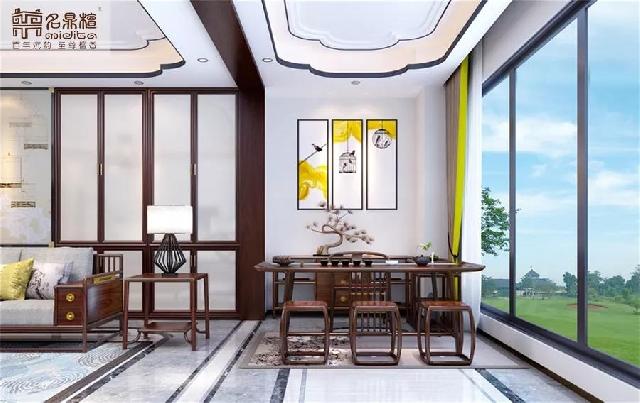 现代中式居家案例:演绎清雅闲逸的东方美学