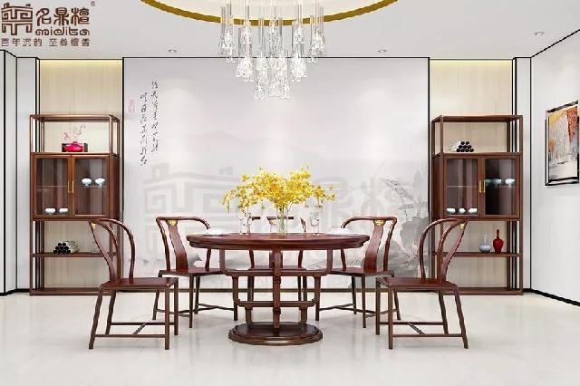 逸芳   线条,无限美的特质,十大新中式家具品牌