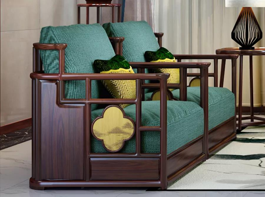 新中式客厅 | 谈笑有鸿儒