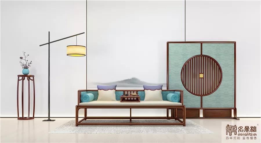 新中式家具逸芳丨心美,一切皆美