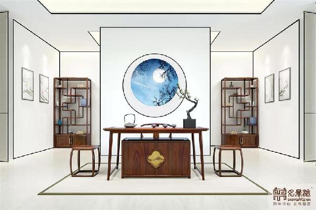 红木新中式家具之茶室 | 以茶静心