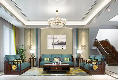 新中式风格 · 别墅   逸芳,一览文人情怀