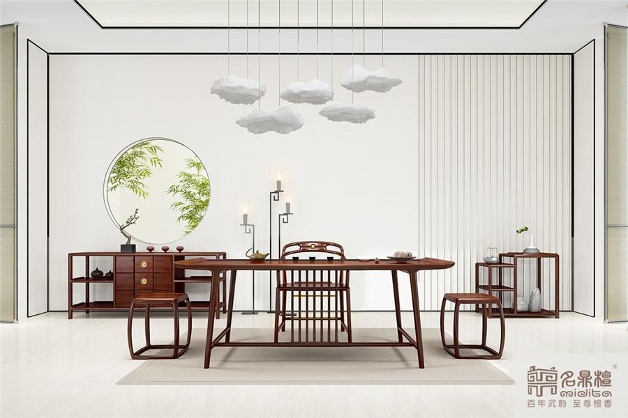 红木新中式家居:逸芳,遇见情怀,十大新中式家具品牌