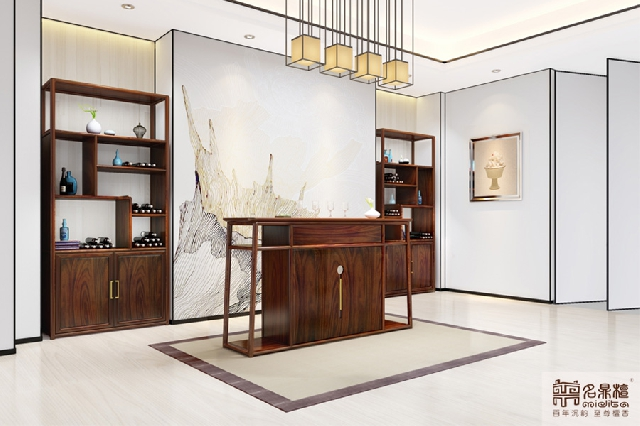 新中式家具   寻一隅清幽,让梦儿轻轻地醉