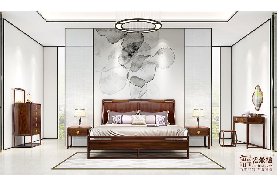 名鼎檀红木新中式家具丨身闲为富,心闲为贵